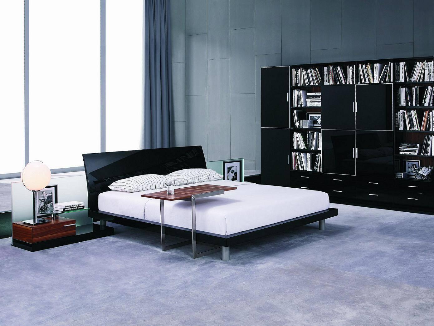 Черный и белый цвета в стиле хай-тек
