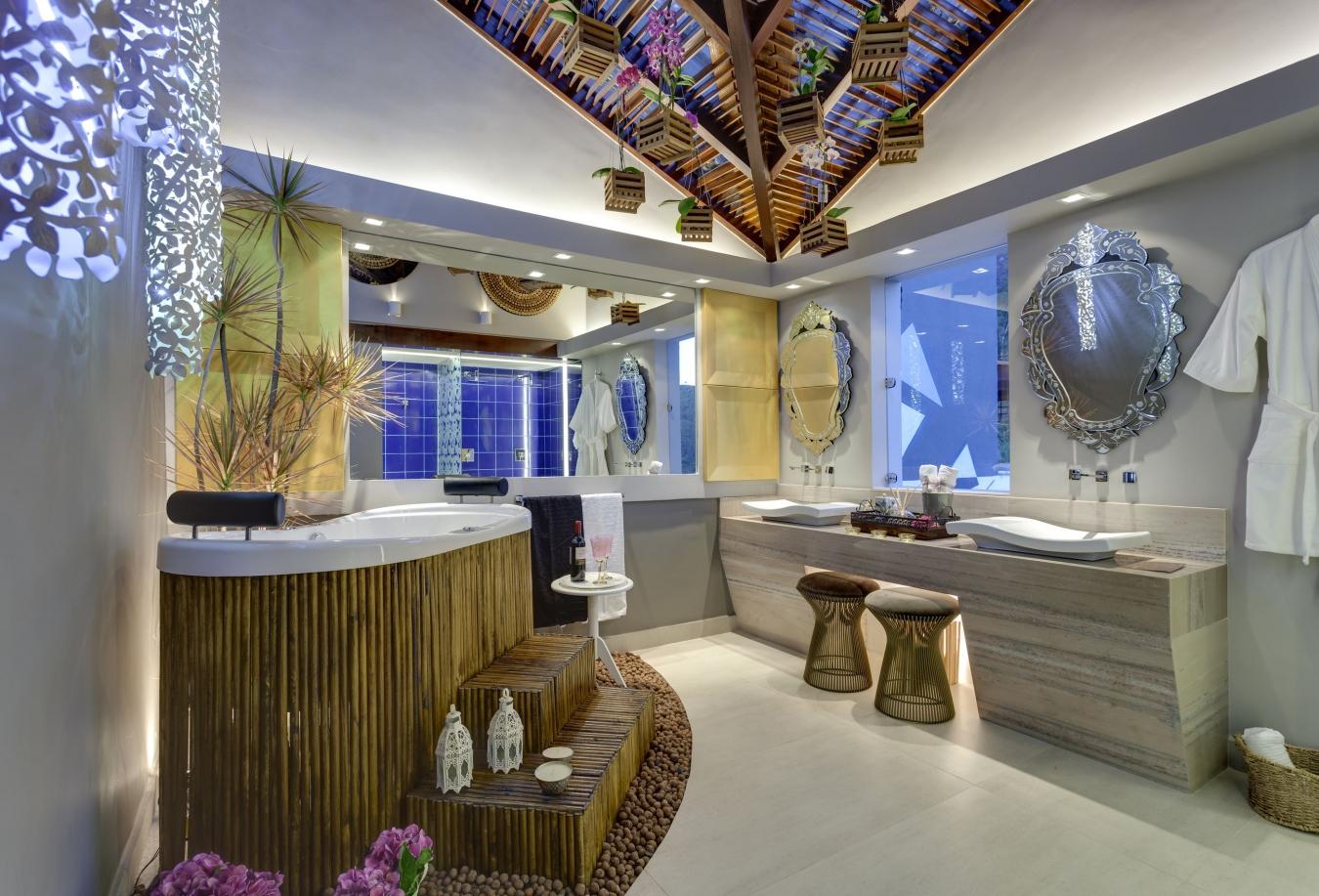 Декор ванной в стиле китч