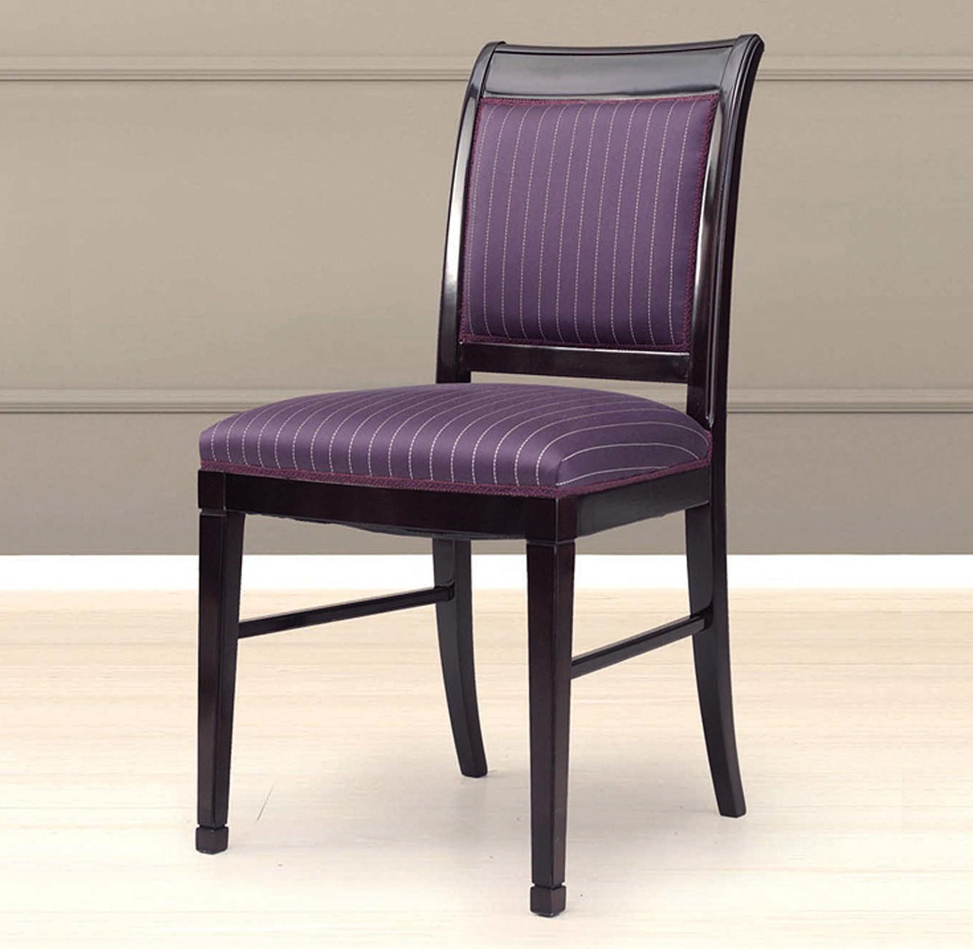 Фиолетовый необычный стул для кухни