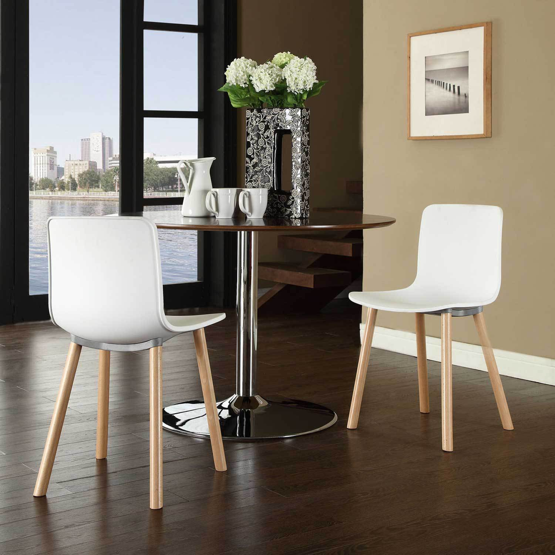 Минималистичные стулья для кухни