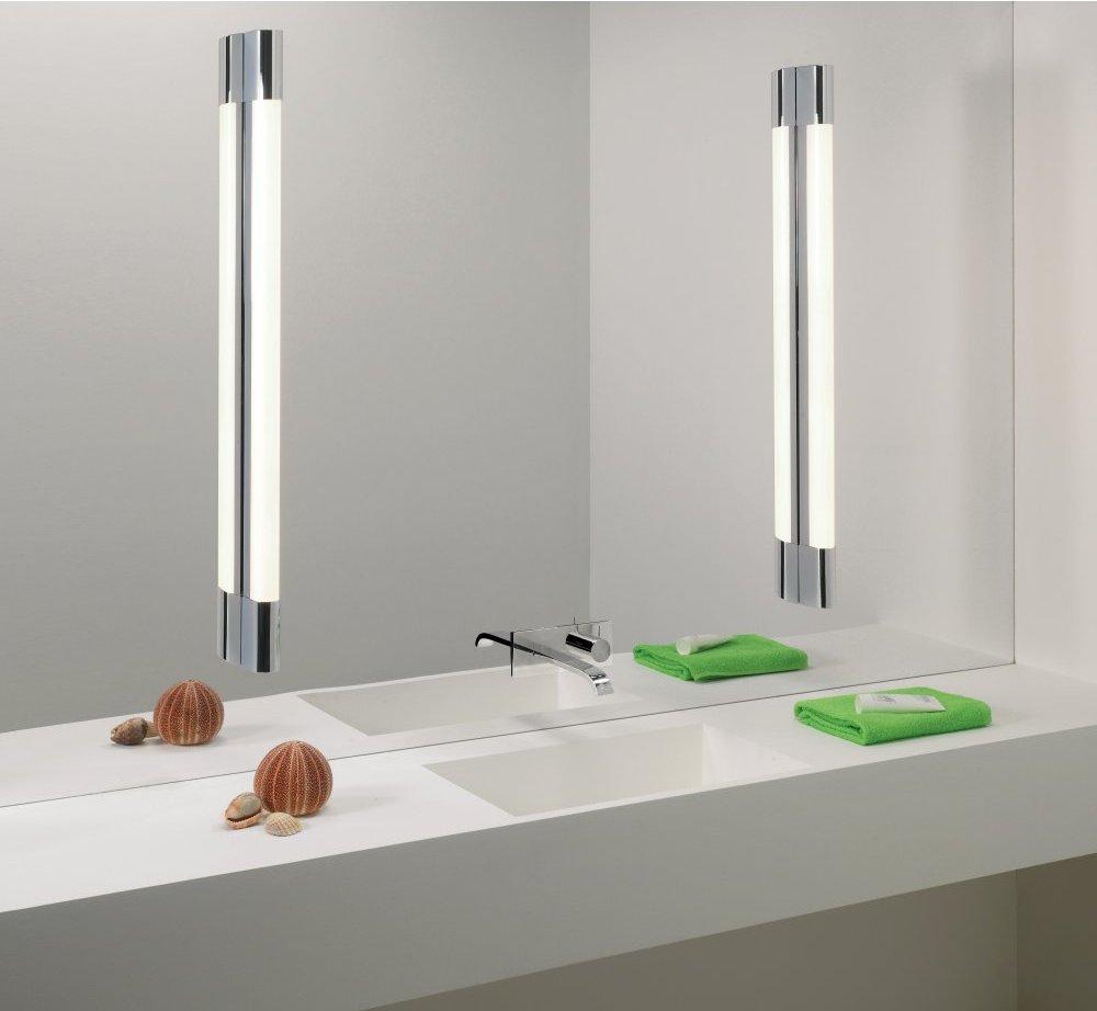 Настенные лампы в ванной