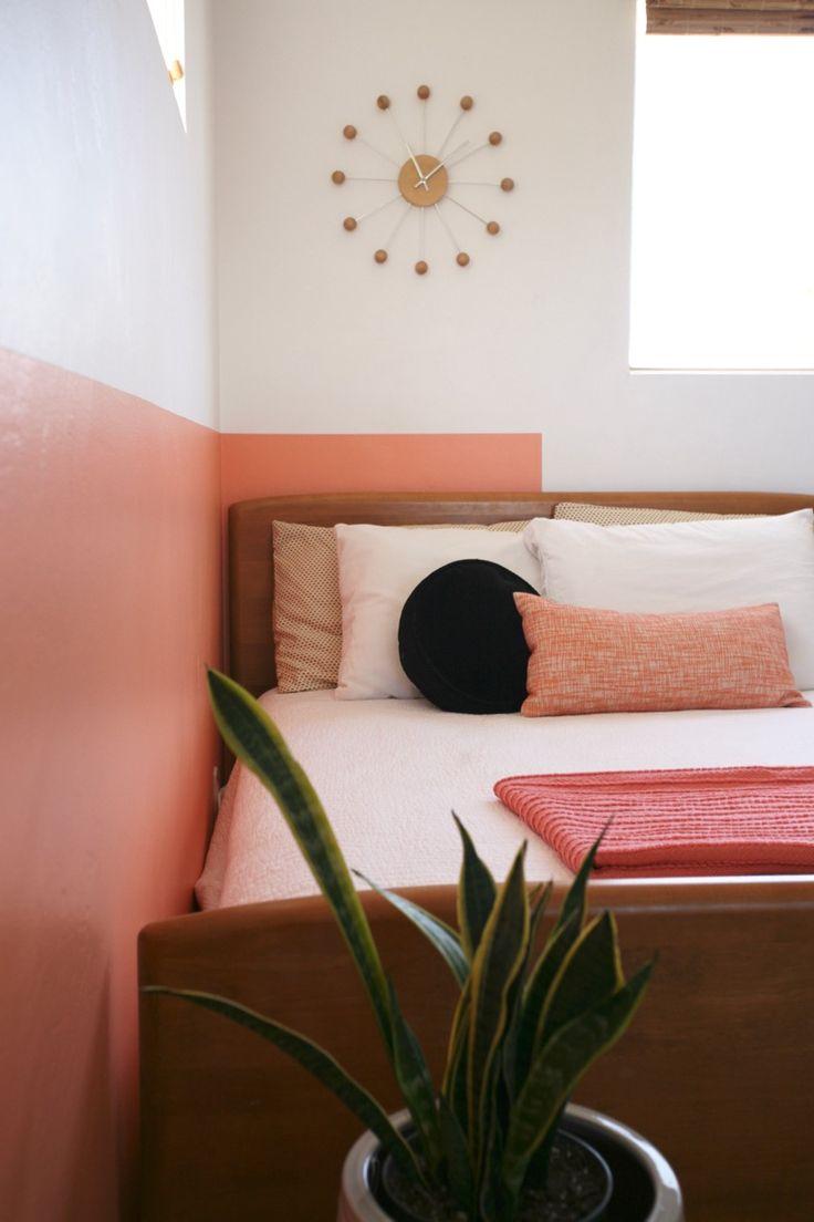 Персиковый цвет в интерьере винтажномПерсиковый цвет в интерьере винтажном