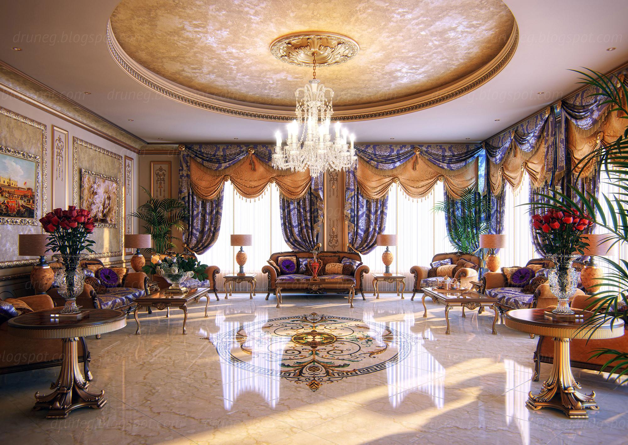 Сочетание классического и восточного стилей в интерьере