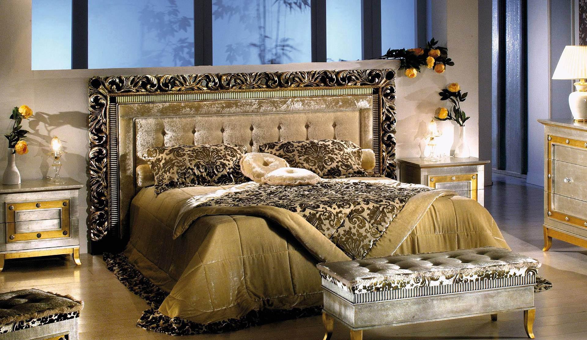 Спальня в роскошном восточном стиле