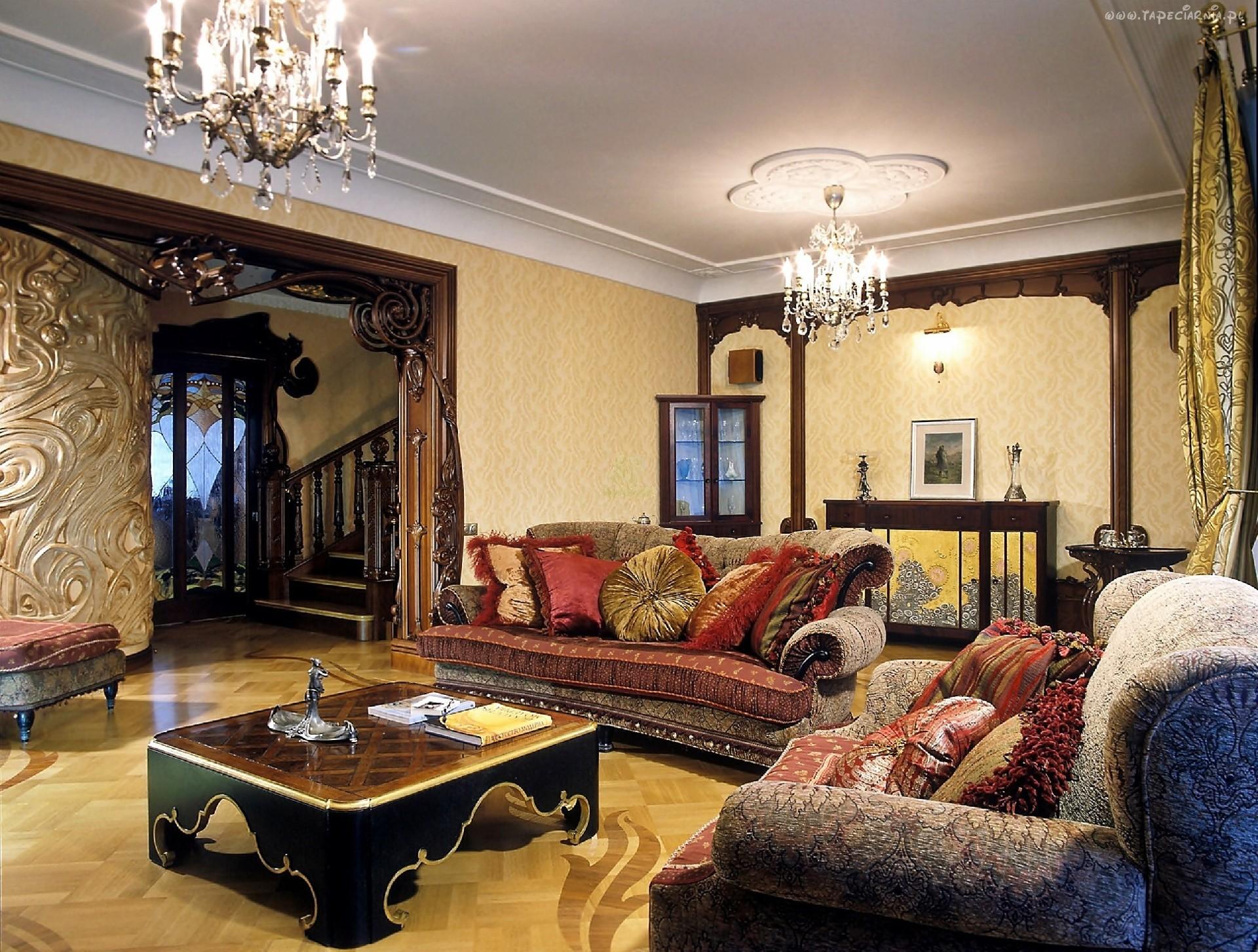 Гостиная комната в восточном стиле