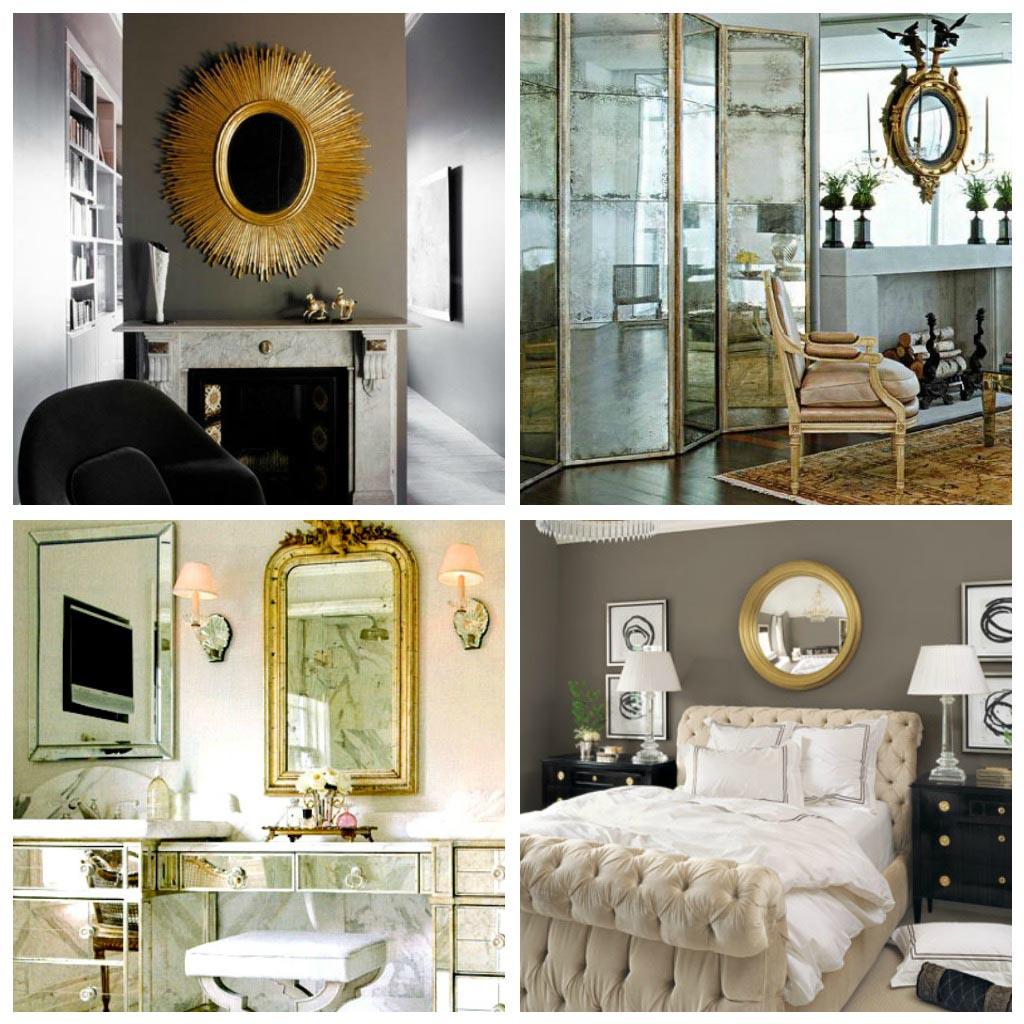 Золотой цвет в интерьерах в стиле эклектика