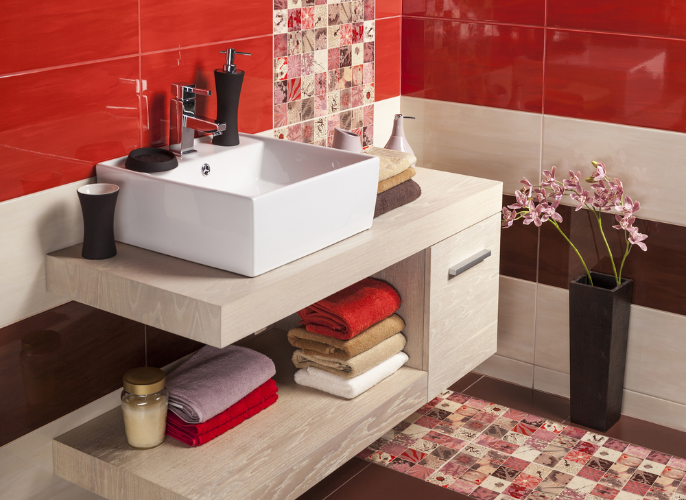 Хранение в маленькой ванной