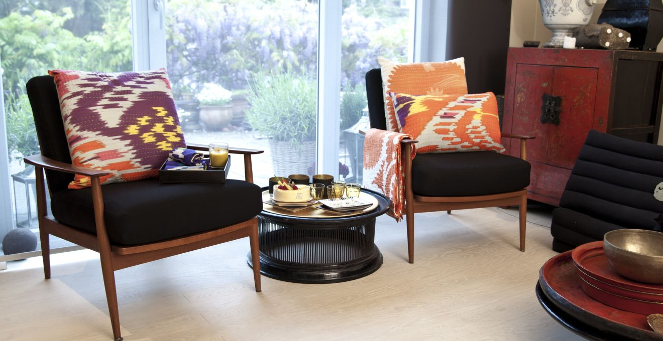 Черные мягкие сидения-чехлы для стульев