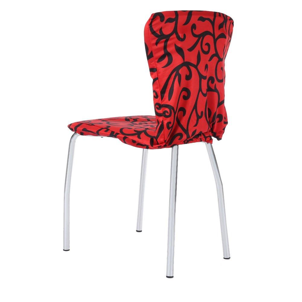 Красно-черный чехол на стул