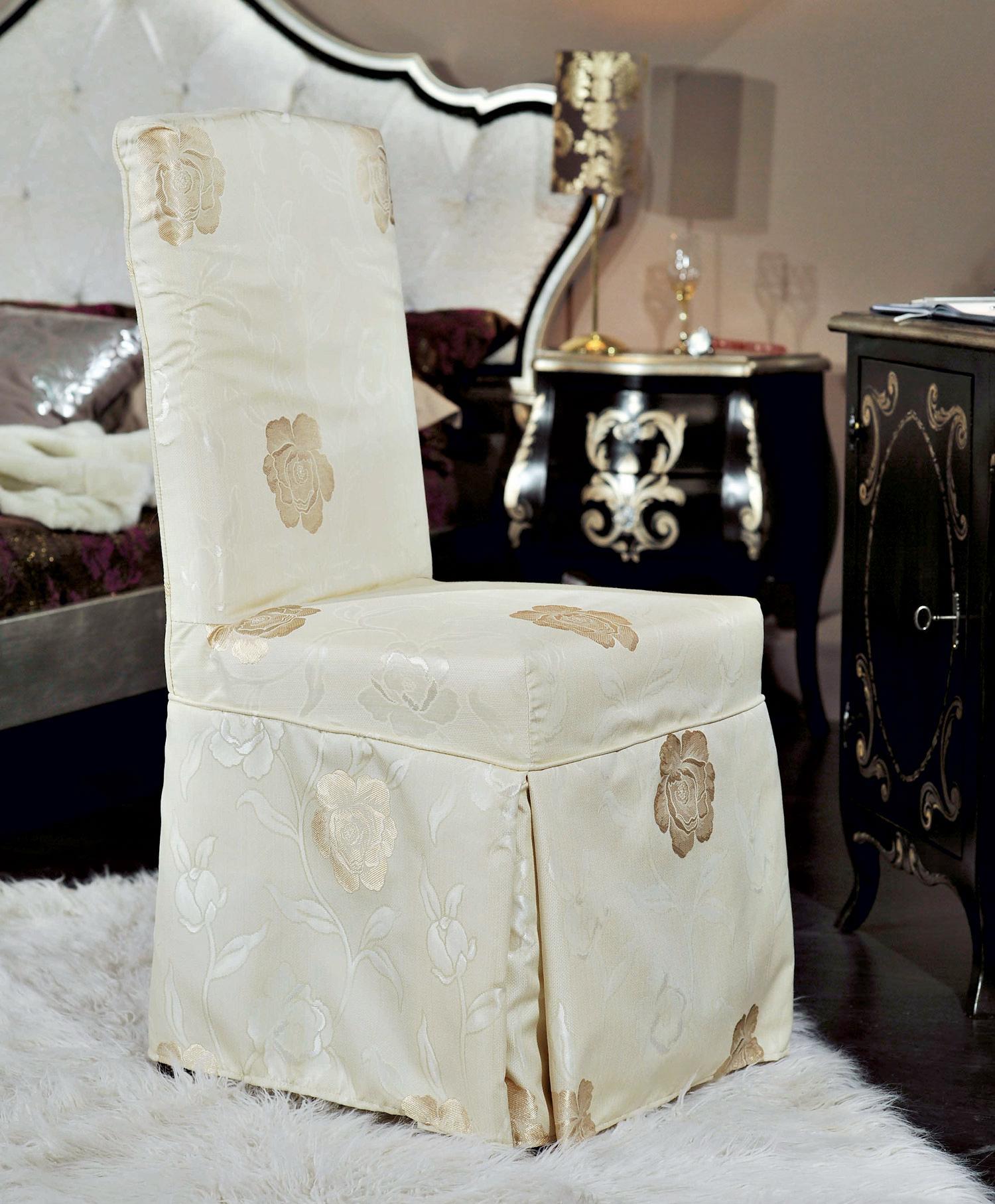 Чехол на стул в классическом стиле