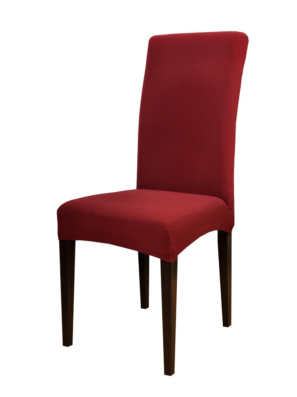 Красный чехол на стул