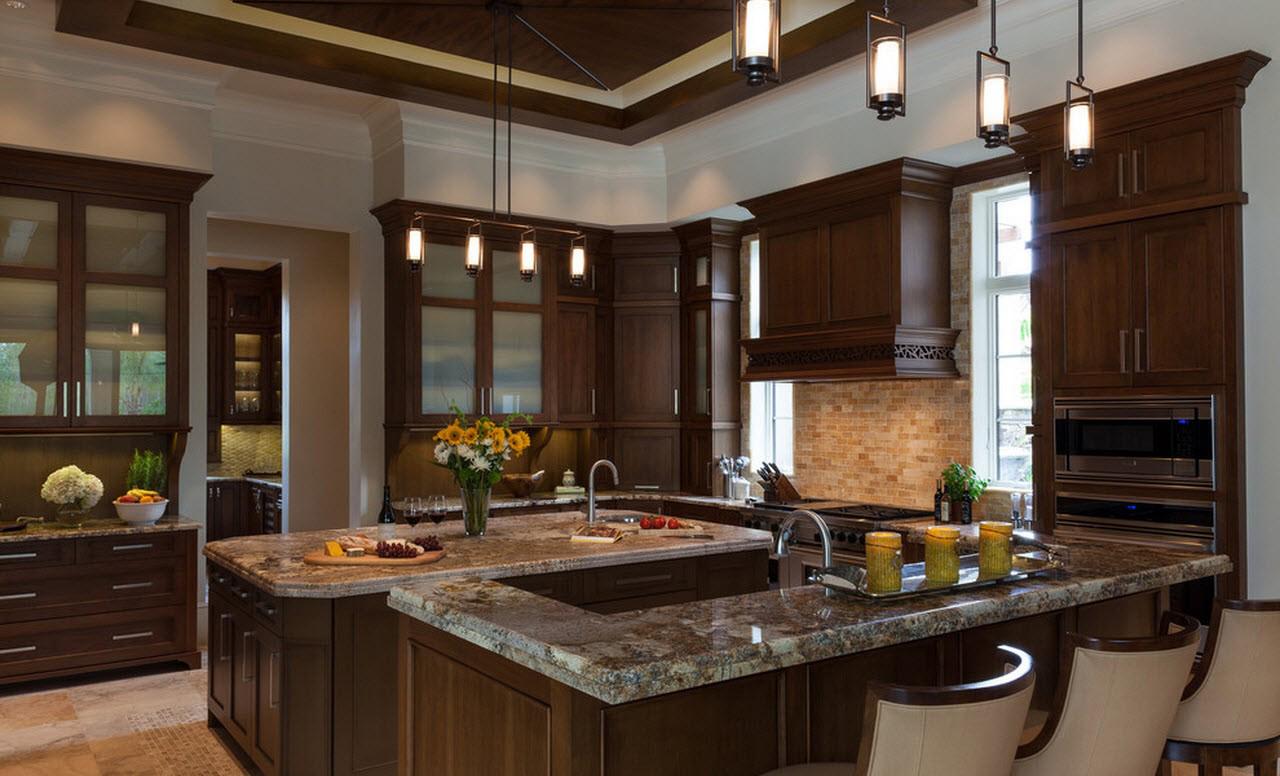 Кухня с элементами в стиле лофт