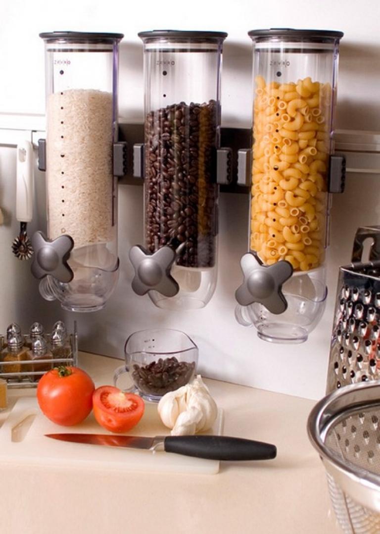 Красивое хранение на кухне