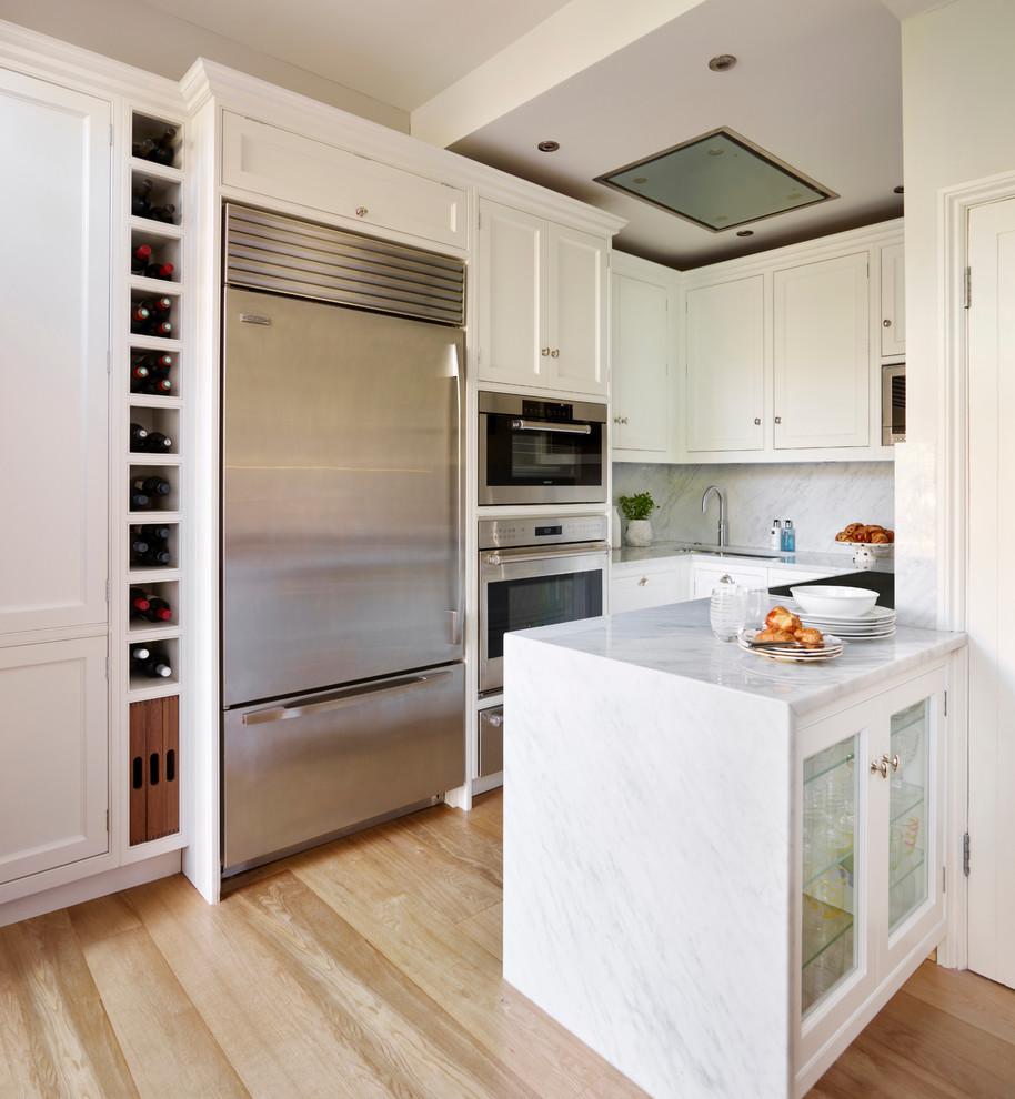 Дизайн маленькой кухни 5 кв м с полуостровом