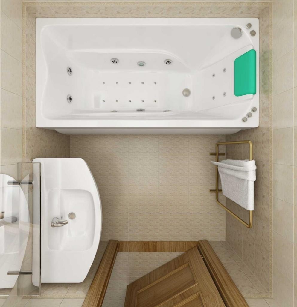 План ванной комнаты 3 кв м