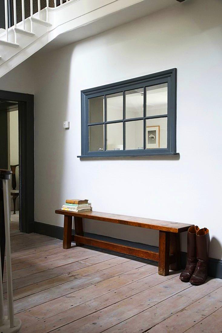 Окно в соседнюю комнату в интерьере
