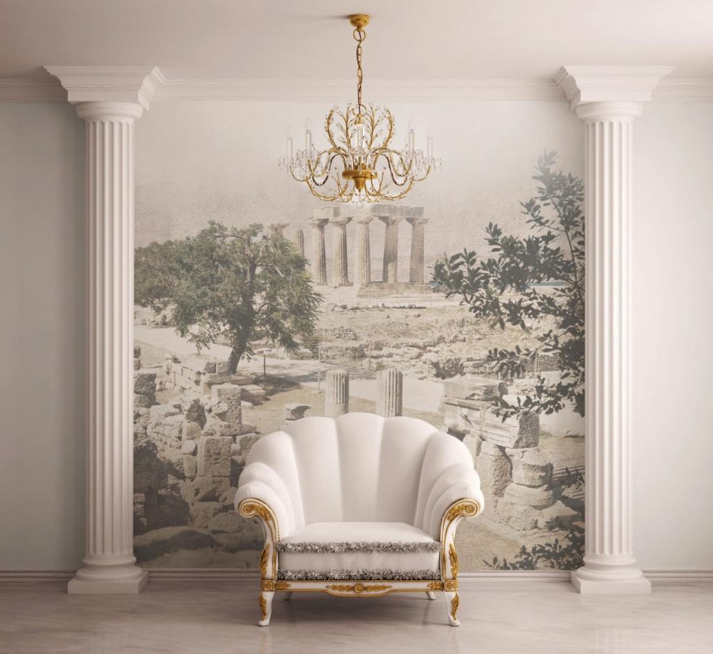 Фреска в комнате без окон