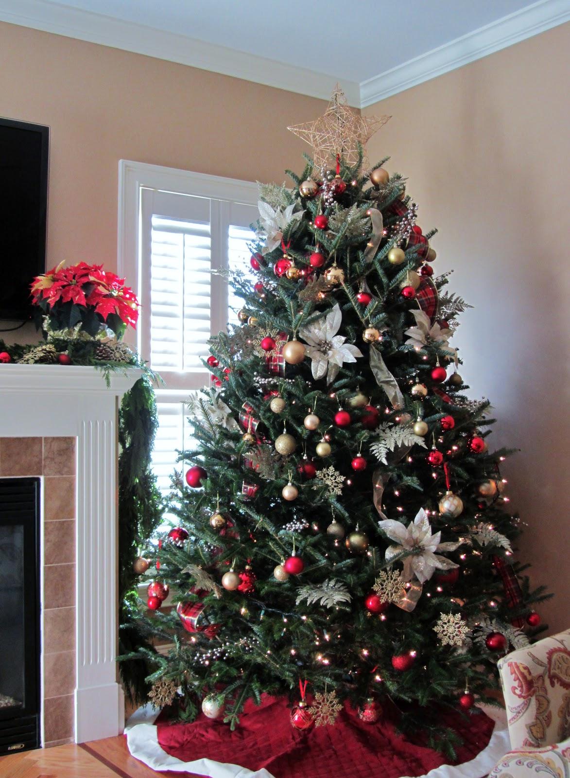 Оформление новогодней елки со звездой