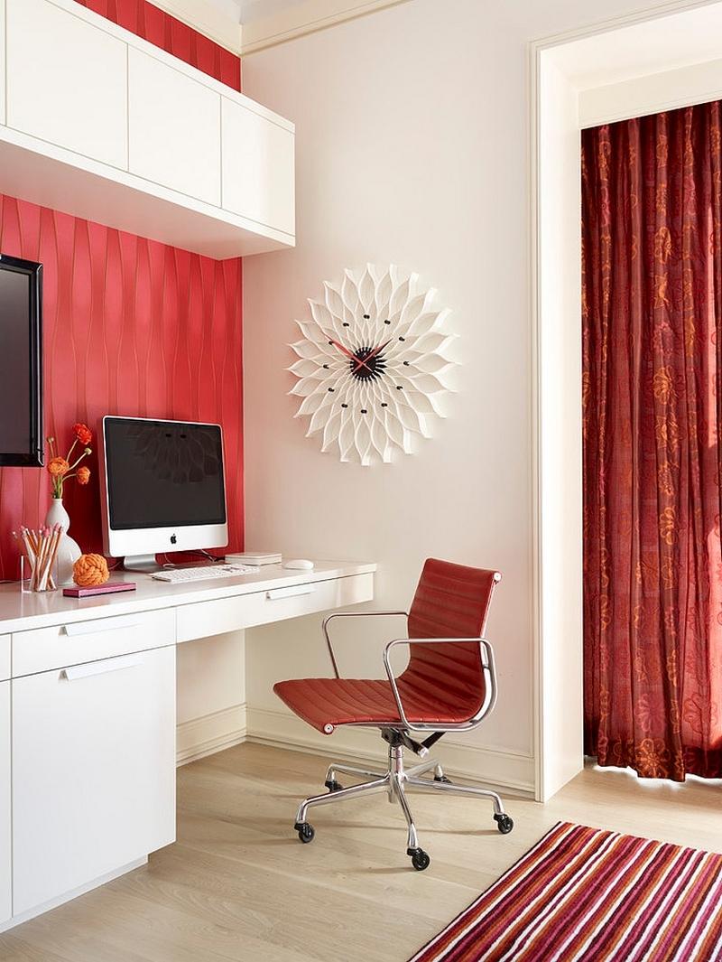 Красно-белый кабинет