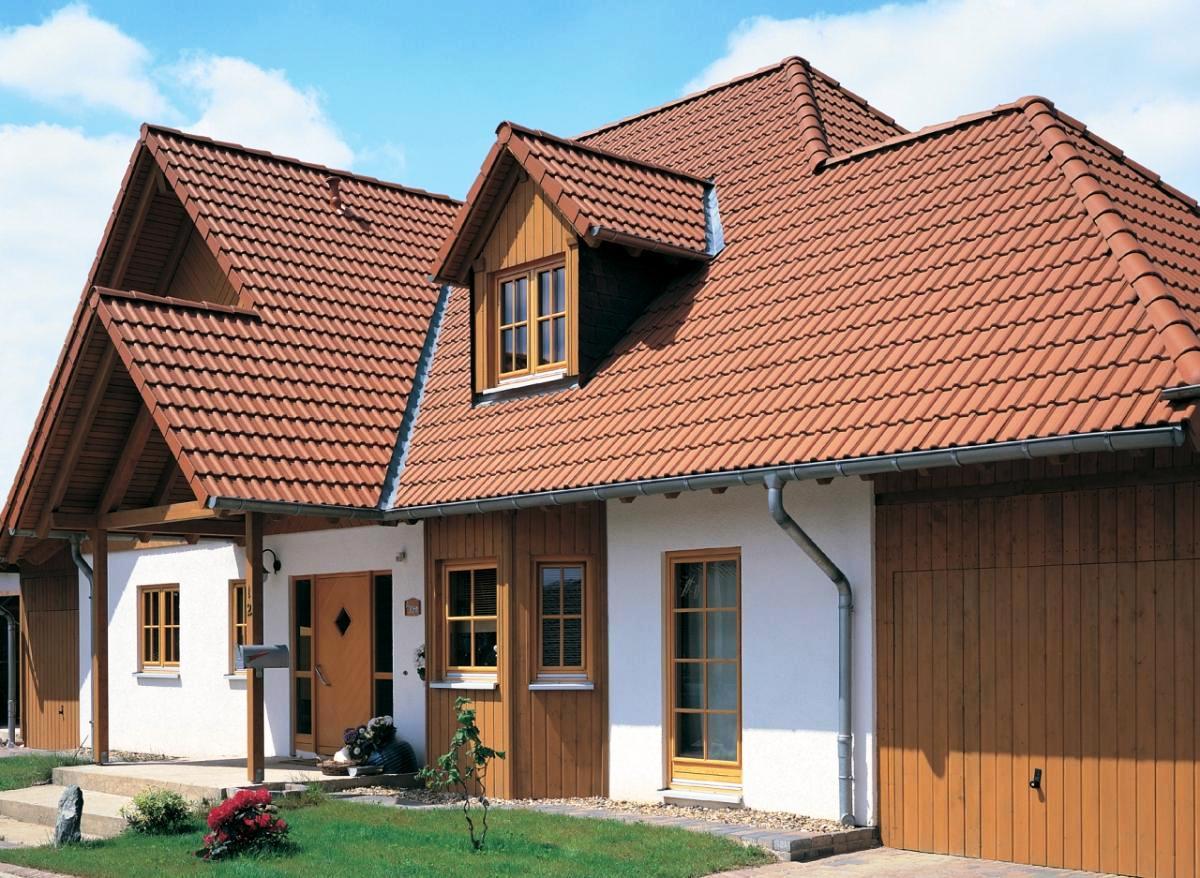 Многощипцовая крыша дома