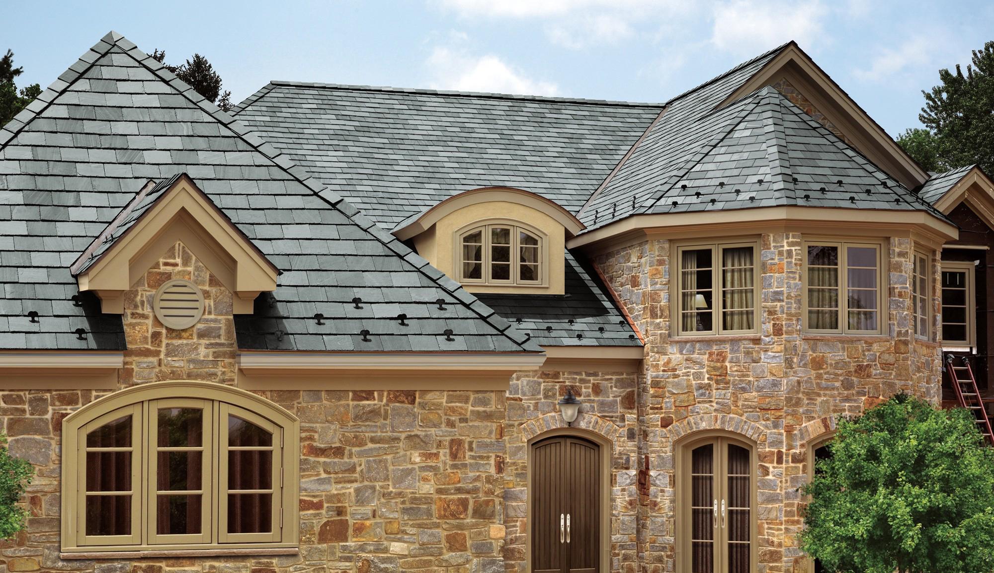 Черепица в строительстве крыши