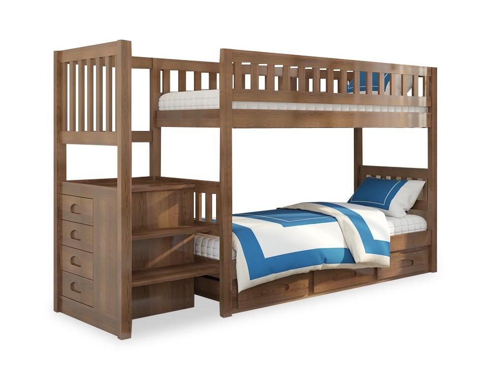 Детская кровать из ольхи