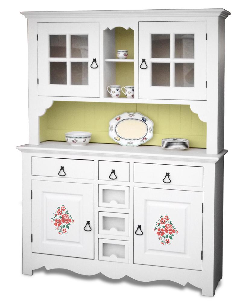 Белый шкаф из сосны