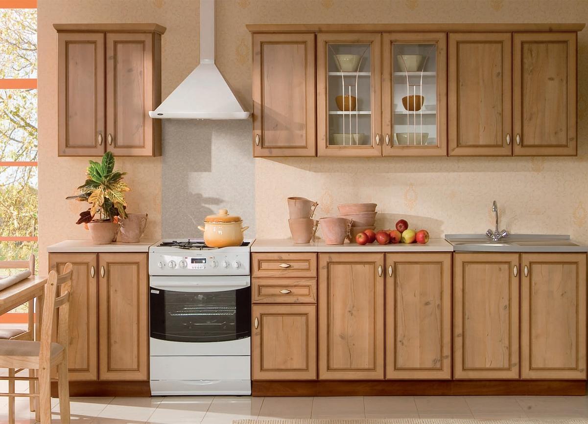 Кухонный гарнитур из сосны
