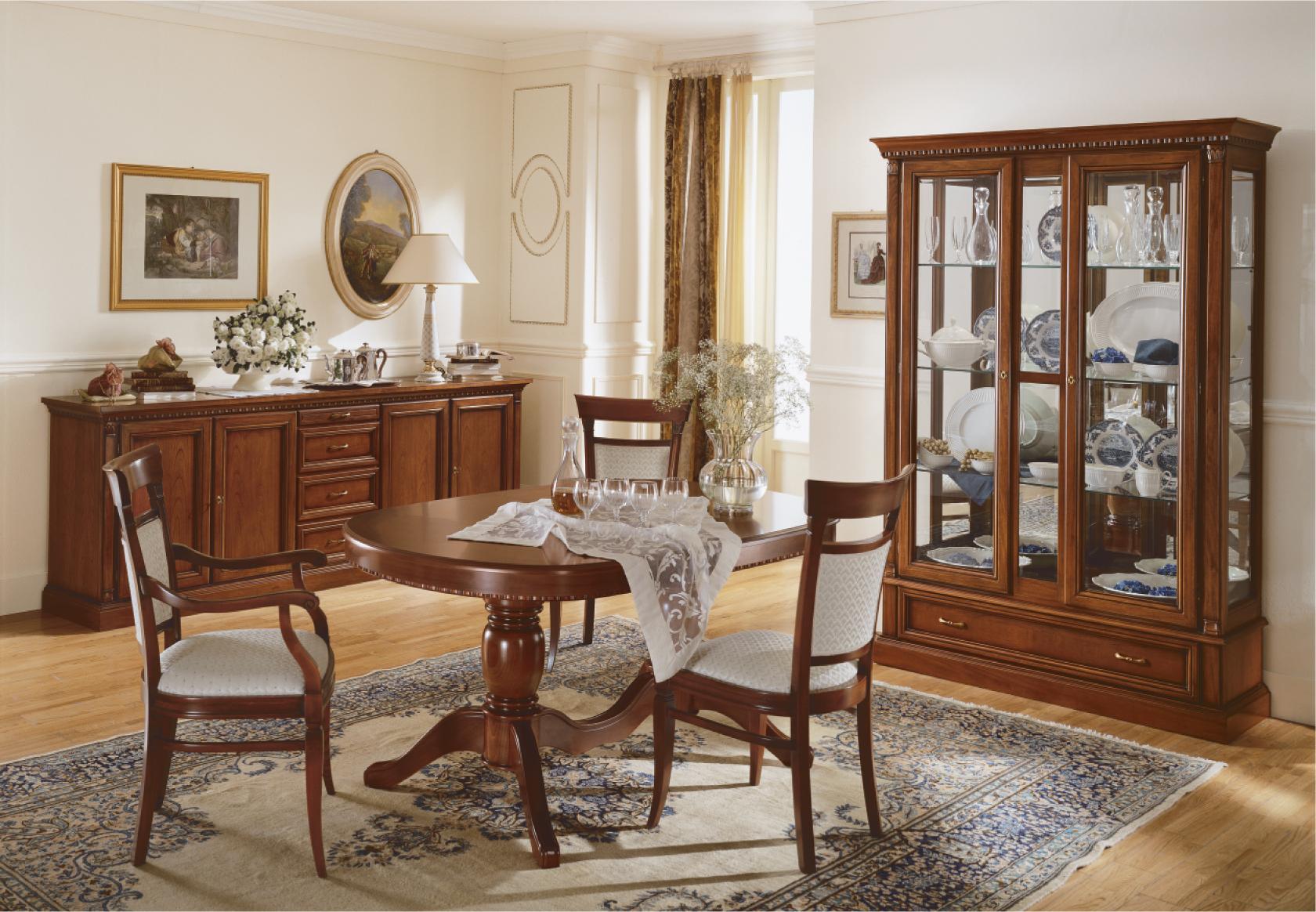Комплект мебели из вишни для столовой