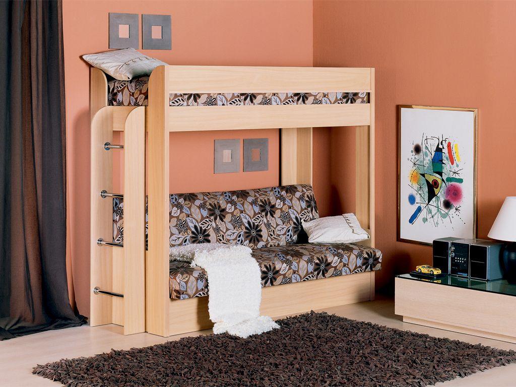 Детская кровать из вишни
