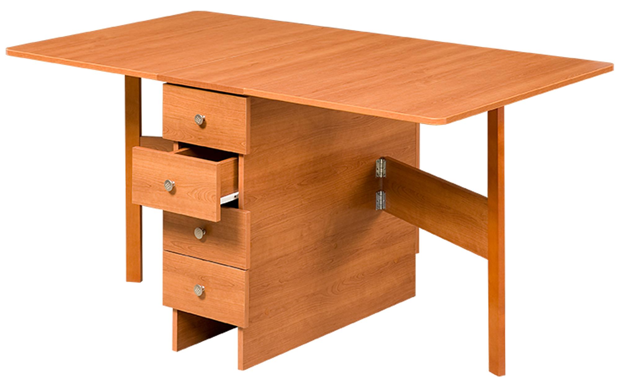 Складной стол из вишни