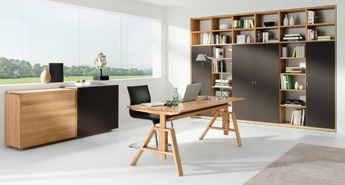 Мебель для кабинета из вишни