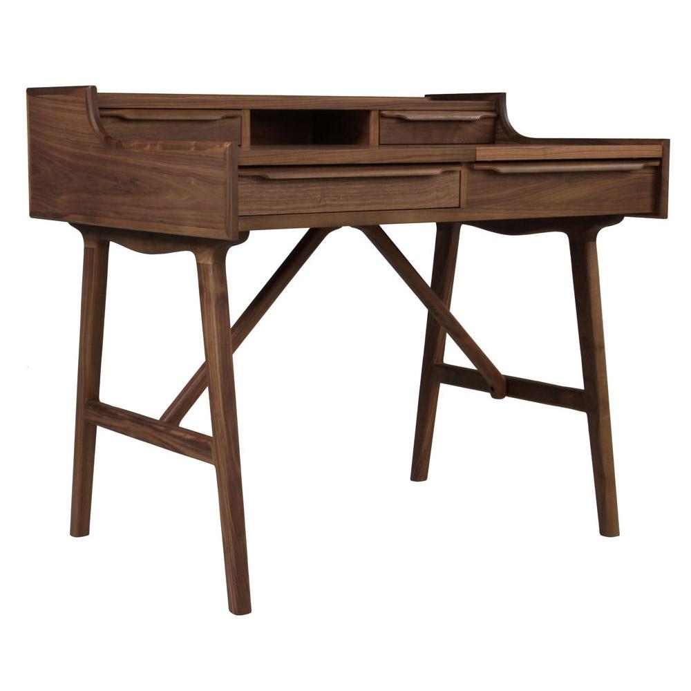 Рабочий стол из американского ореха