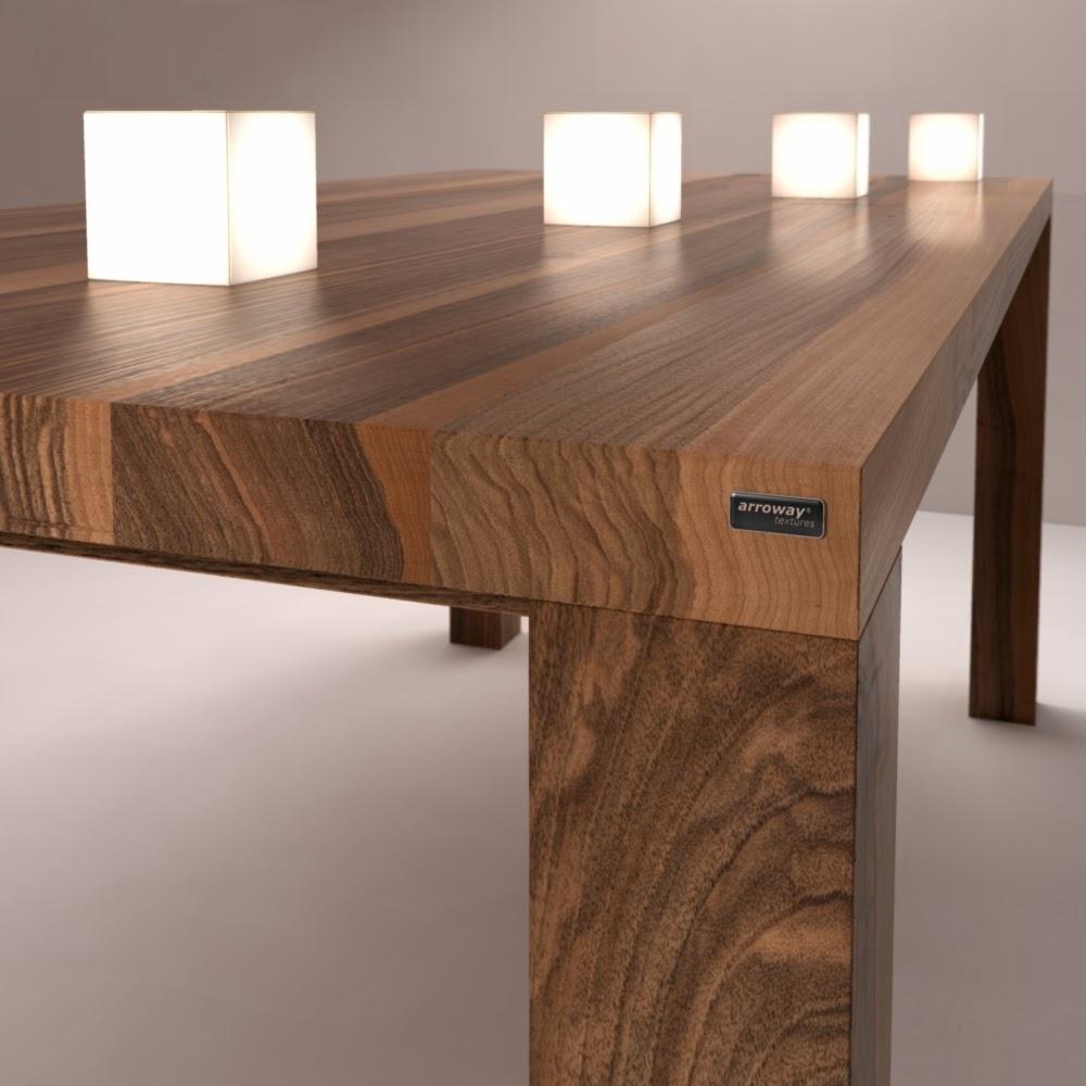 Дизайнерский стол из ореха