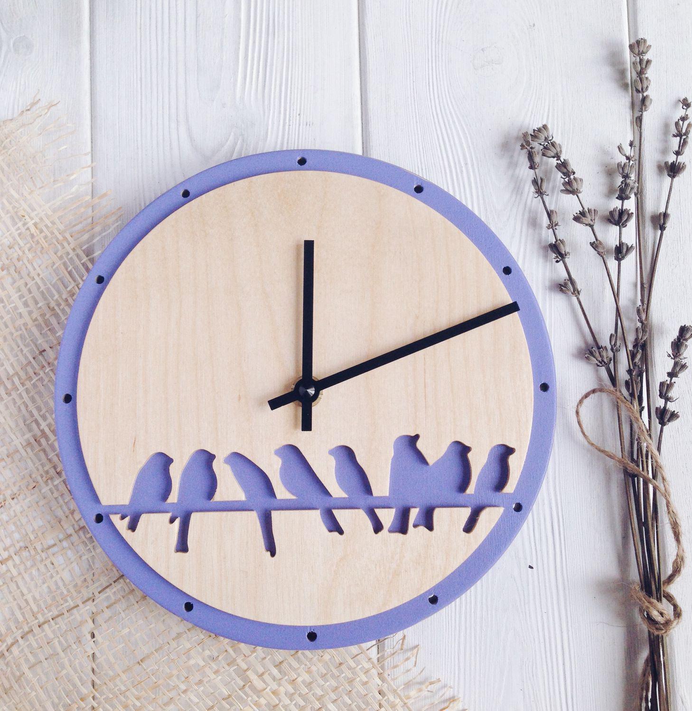 Часы на стену в стиле прованс