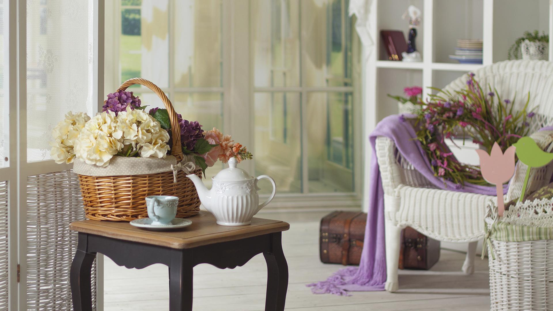 Декорирование интерьера в стиле прованс