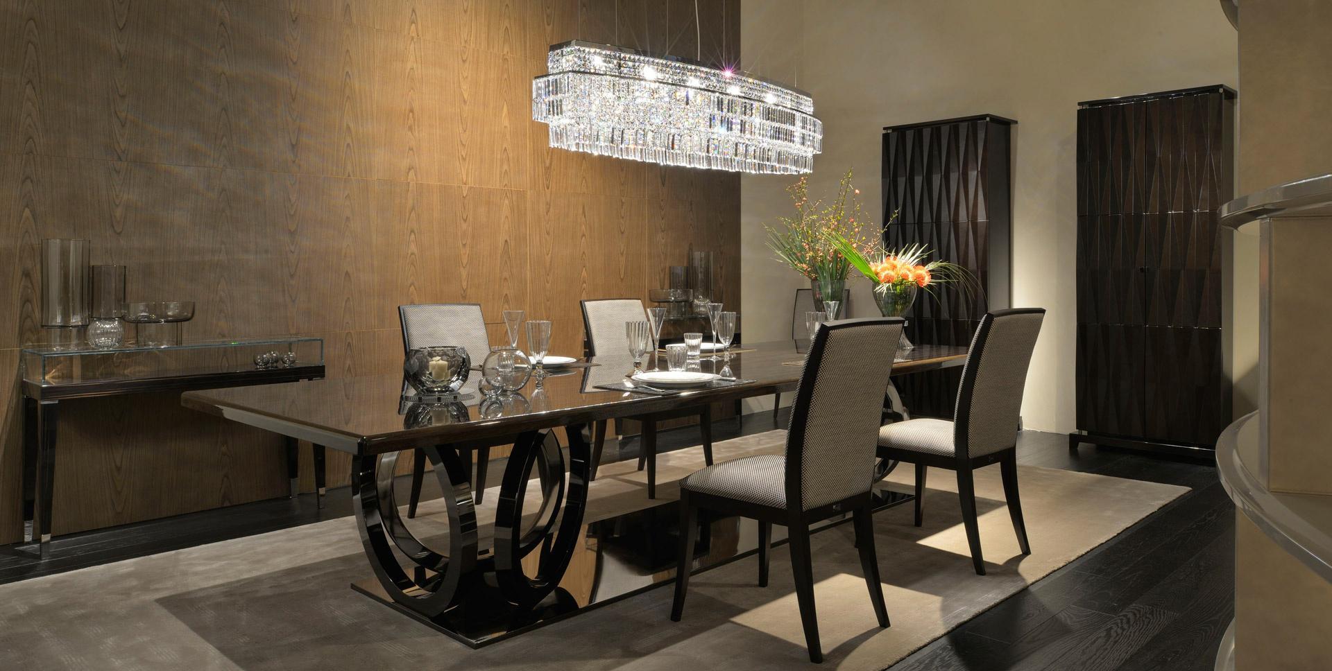 Мебель в столовой в стиле арт-деко