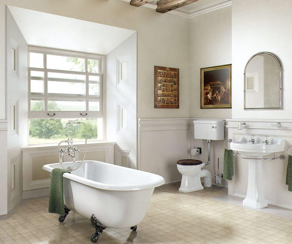 Стильные аксессуары для ванной в стиле кантри