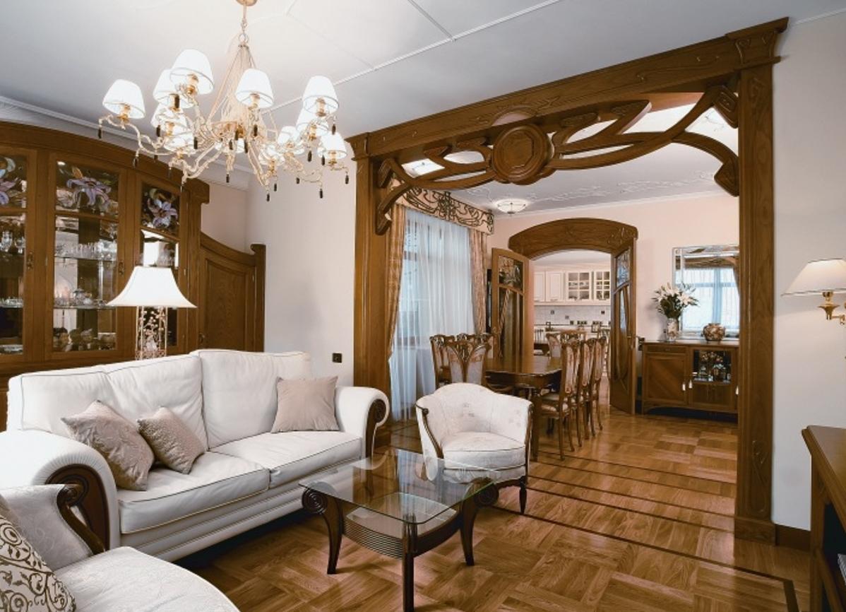 Разнотипная мебель для дома в стиле кантри