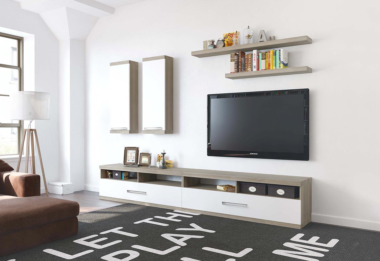 Черный, белый и коричневый цвета в интерьере гостиной в стиле минимализм