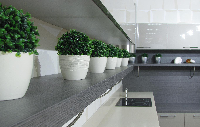 Оформление кухни в стиле модерн
