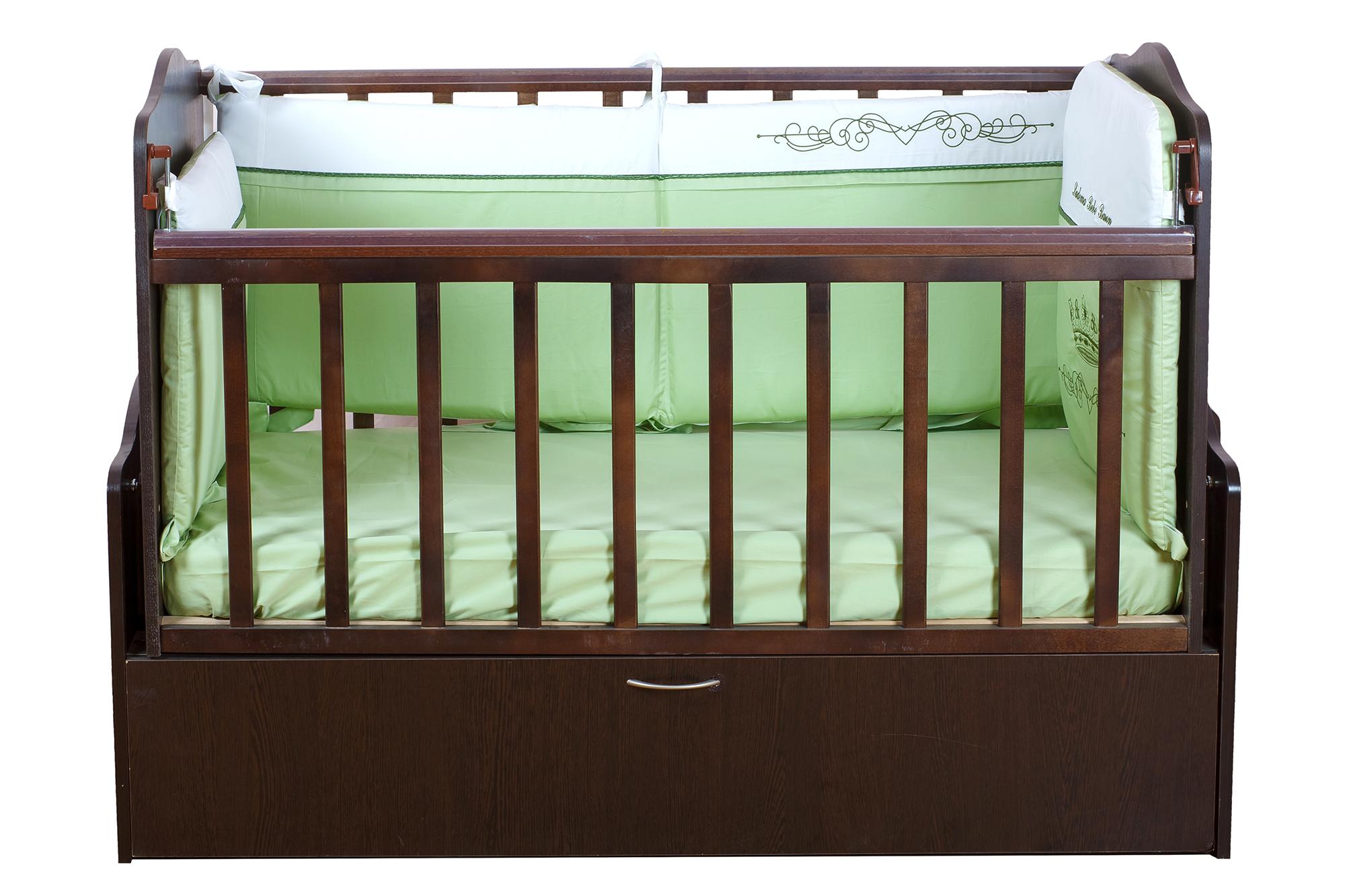 Детская кроватка венге