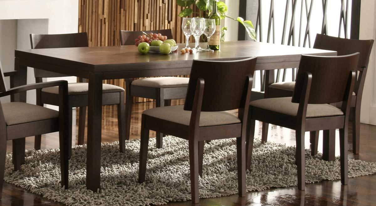 Мебель венге в столовой