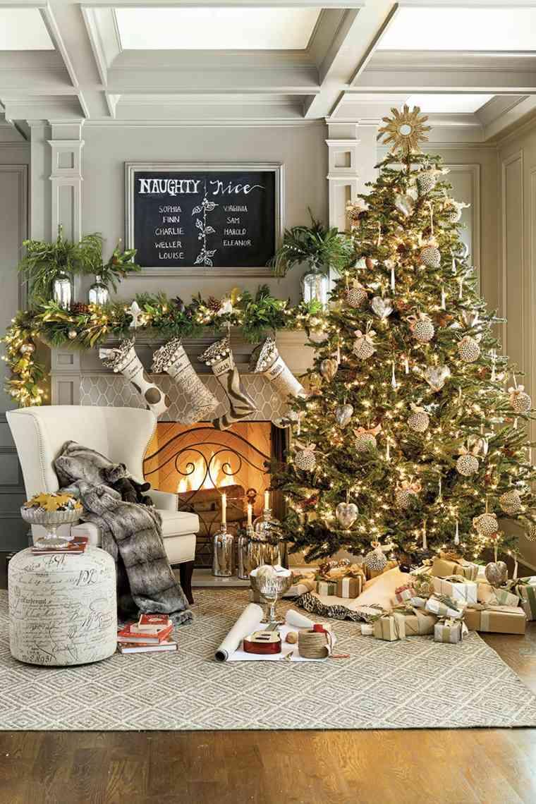 Оформление новогодней елки в стиле модерн