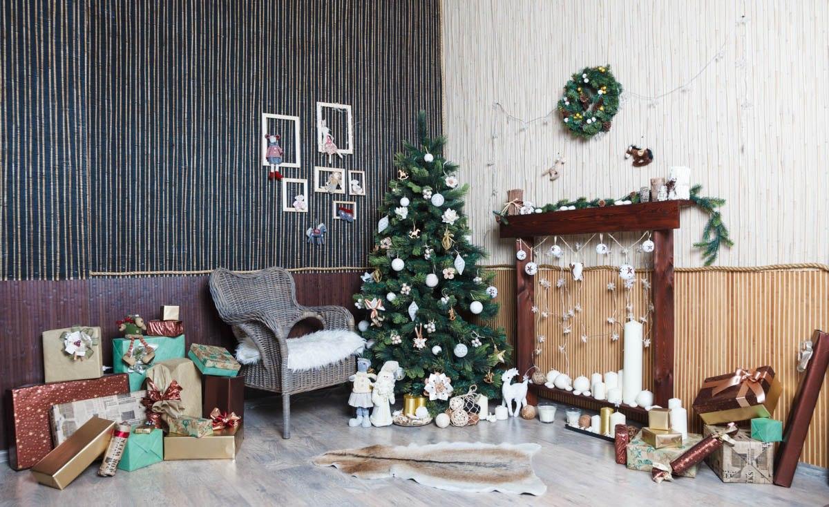 Необычный декор квартиры в Новому году