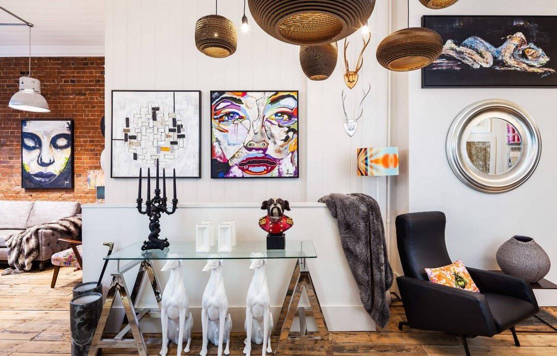 Креативное оформление прихожей в квартире