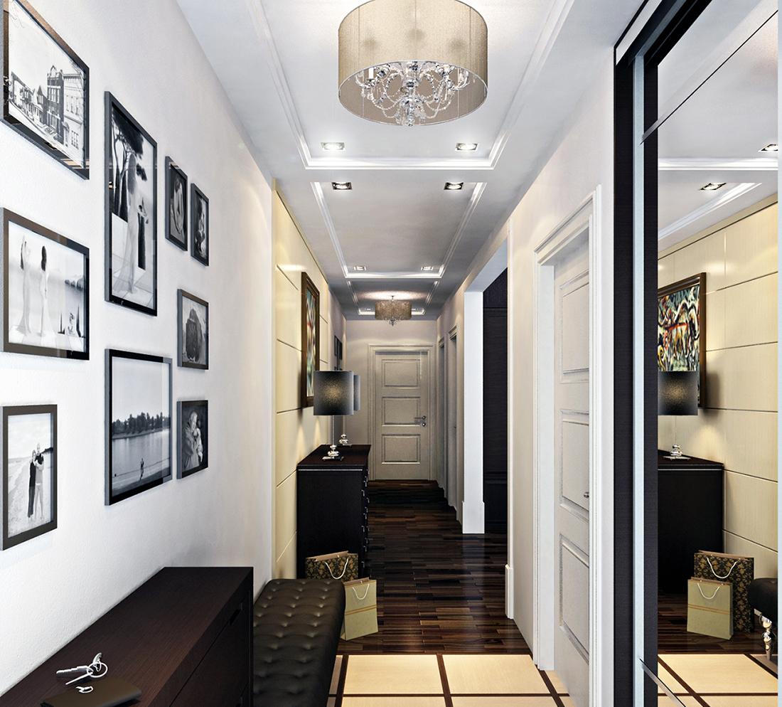 Зеркало во весь рост в коридоре