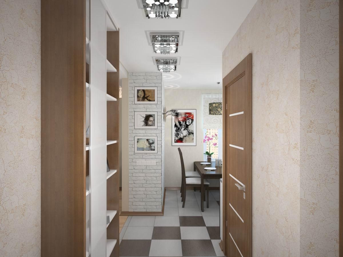 Современное освещение в коридоре