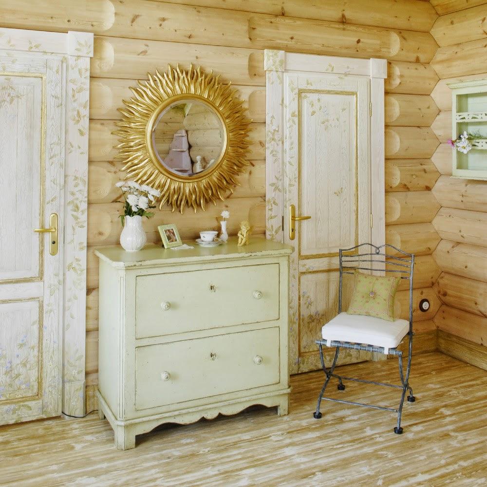 Декор комнаты в русском стиле