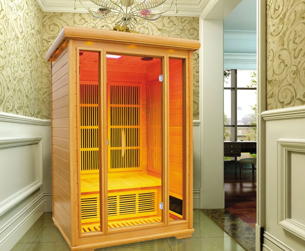Инфракрасная сауна в интерьере квартиры